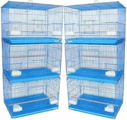 Lot of 6 Aviary Breeding Breeder Bird Cages 24x16x16--2426 B