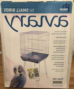 "Prevue Hendryx Aviary For Small Birds 16x16x25"" with Stand"
