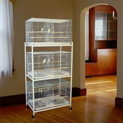 "Bali Bungalow™ Breeding Bird Cage - 30""W x 18""D x 18""H - M"