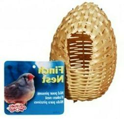 Living World Bamboo Finch Nest, Medium, 4 x 4 Inches