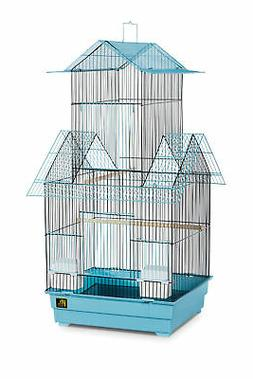 Beijing Bird Cage Color: Blue and Black