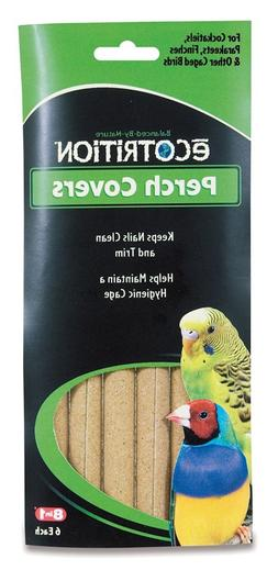 8 In 1 Pet Products BEOC366 6-Pack Sanded Bird Perches Cover