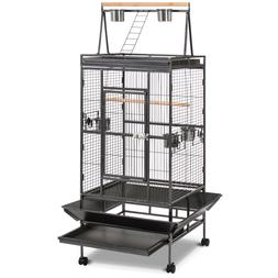 Best Choice Products 68in Durable Bird Cage w/ Long Wooden P