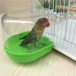 Bird Bathtub Bath Box Bird Cleaning Tool Cage Parrot Bath Pl