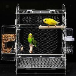 Bird Breeding Nest Bed for Budgie Parakeet Cockatiel Hatchin