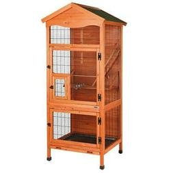 TRIXIE 30.5 in. L x 30.5 in. W x 70.75 in. H Aviary Large Wo