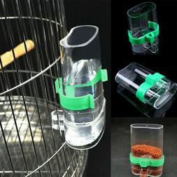 Pet Bird Cage Auto Water Bottle Parrot/Cockatiel Food Hangin