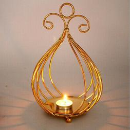 Bird Cage Candleholder Candlesti for Wedding Xmas Dinner Dec