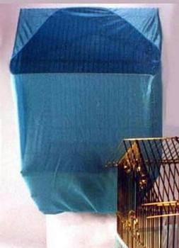 Sheer Guard Bird Cage Cover. Size Small. Blue. Free Shipping