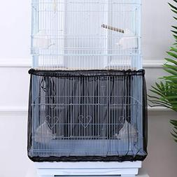 POPETPOP Bird Cage Cover Stretchy Seed Catcher Birdcage Nylo