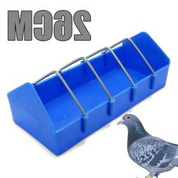 Bird Cage Feeder Cup For Pet Pigeon Food Poultry Supplies St