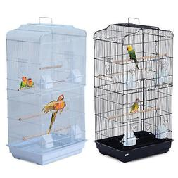 "Bird Cage Large Parrot 19""L x 14""W x 36""H Cockatiel Pet Supp"