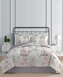 Bird cage Luxury 8-Pc. Comforter Bed Set  ANY SIZE F/Q/K/CK