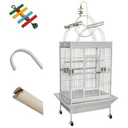 Bird Cage Non-Toxic Epoxy Ladders 40x31x75 White Vein
