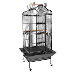 Bird Cage Non-Toxic Epoxy Playtop 32x30x61 Black Vein