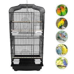 """Bird Cage Parrot 18""""L x 14""""W x 36""""H Cockatiel +Wood Perches+"""