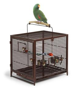 Bird Cage Parrot Large Finch Cockatiel Parakeet Stand Pet Pl