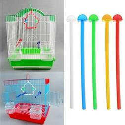 Bird Cage Perch Stand Holder Plastic Bird Finch Canary Budgi