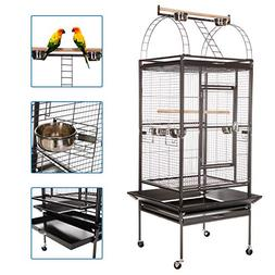 VECELA Bird Cage Play Top Parrot Cage 68 Inch Large Bird Cag