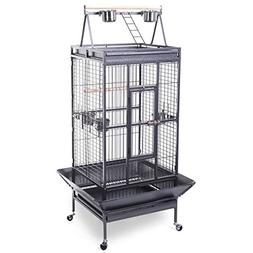 Giantex Bird Cage Large Play Top Parrot Finch Cage Macaw Coc