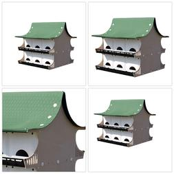 Bird Cage Shed Wood Frame Heat Weather Resistant Light weigh