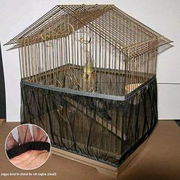 Aolvo Bird Cage Skirt Bird Cage Net Seed Catcher - Bird Cage