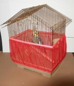 Sheer Guard Bird Cage Skirt - Medium
