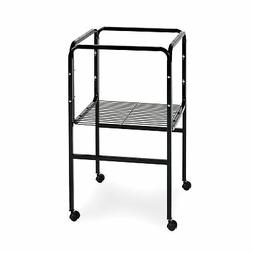 Prevue Pet Products Bird Cage Stand with Shelf, Black