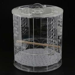 Bird Cages Nest with standing perch water food feeder for sm