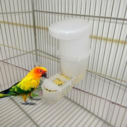 Bird Feeder Automatic Food Water Feeding Drinker Parrot Pet