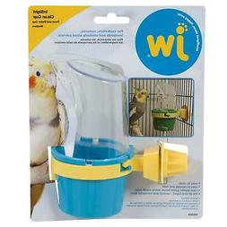 Bird Feeder Water Cup Accessory Fits All Bird Cage Medium, C