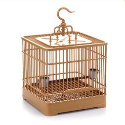 Bird Hanging Feed Holder Plastic Cage Tube PawMits Bird Feed