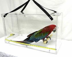 Bird Macaw Carrier / Bird Acrylic Cages