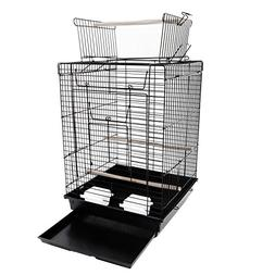 "Yoshioe 23"" Bird Metal Cage For Parrot Lovebirds Parakeets W"
