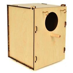 Bird  Nest Box  Breeding Cage Aviary Finch Canary Parakeet W