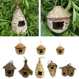 Bird Nest Breeding Nest Bird Box Wild Grass Weave Canary Fin