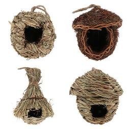 Bird Nest Breeding Nest Birds Box Wild Grass Weave Canary Fi
