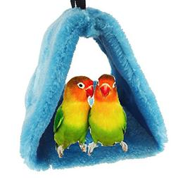 Bird Nest House Hut Hammock for Parrot Budgies Parakeet Cock