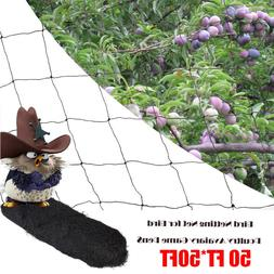 50' X 50' Bird Netting Chicken Protective Net Screen Poultry