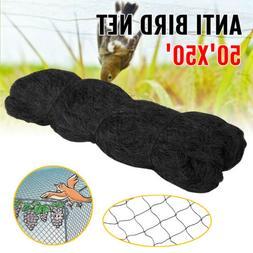 Anti Bird Netting 50' X 50' Garden Soccer Baseball Poultry A