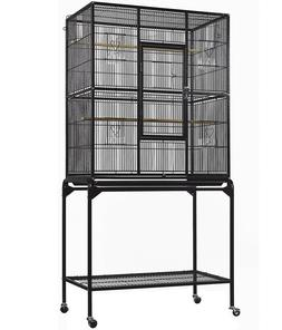 "Everila Bird Parrot Cage 32Lx18Wx63H Bar Spacing 1/2"" Cockat"