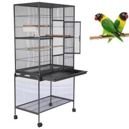 Bird Parrot Cage Chinchilla Cockatiel Conure Large House Bed