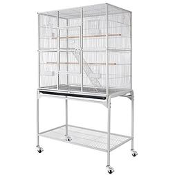 "Bird Parrot Cage 32""x18""x64"" Overall Size Chinchilla Sugar G"
