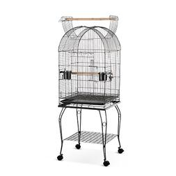 "iKayaa 20"" Bird Parrot Open Play Top Cage Macaw Cockatoo Con"