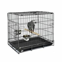 Bird Parrot / Parakeet Travel Carry Cage African Grey Amazon
