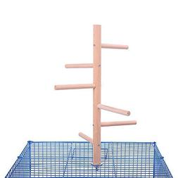 QBLEEV Bird Perch,Bird Cage Perch, Birdcage Stands, Parrot C