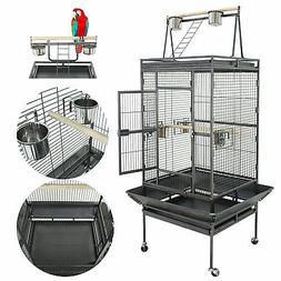 bird pet cage 68 large play top