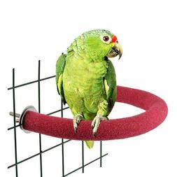 Bird Stand Perch Chew Branch Toy Cage Budgie Pet Platform Pa