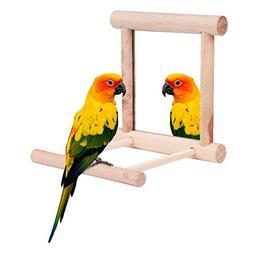 HAPPTYTOY Bird Toy for Parrot Parakeets Conures Cockatiels C