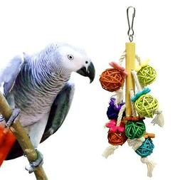 Bird Toy Wood Large Rope Cave Ladder Chew Toy Parrot Pet Bir